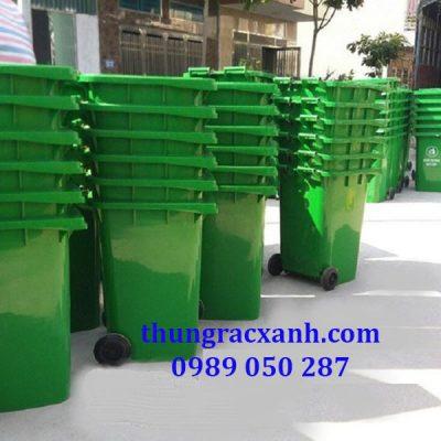 kho thùng rác 240 lit giá rẻ