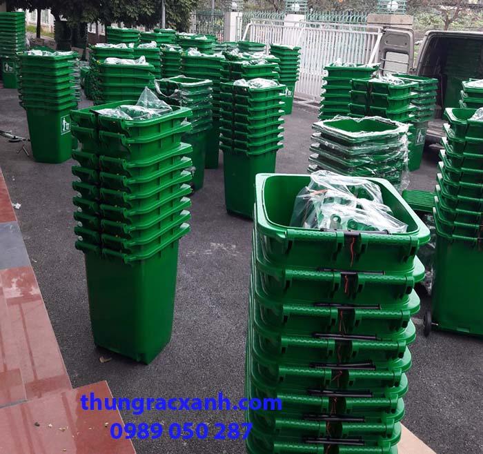 Thùng rác giao cho dự án