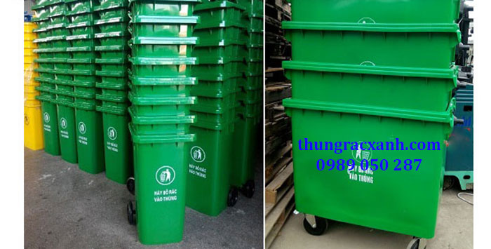 Kho thùng rác nhựa giá rẻ nhất thi trường