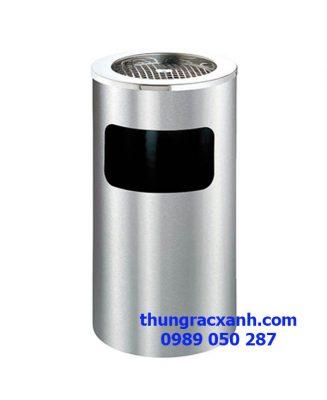 Thùng rác inox gạt tàn A35 B