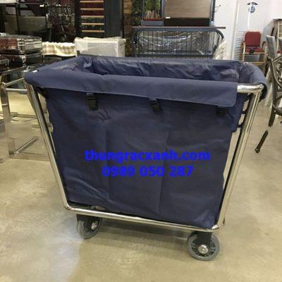 Xe thu gom đồ giặt là đưa vào sử dụng