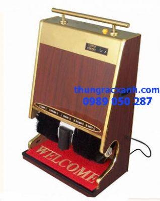 máy đánh giầy mặt inox kết hợp với gỗmáy đánh giầy mặt inox kết hợp với gỗ