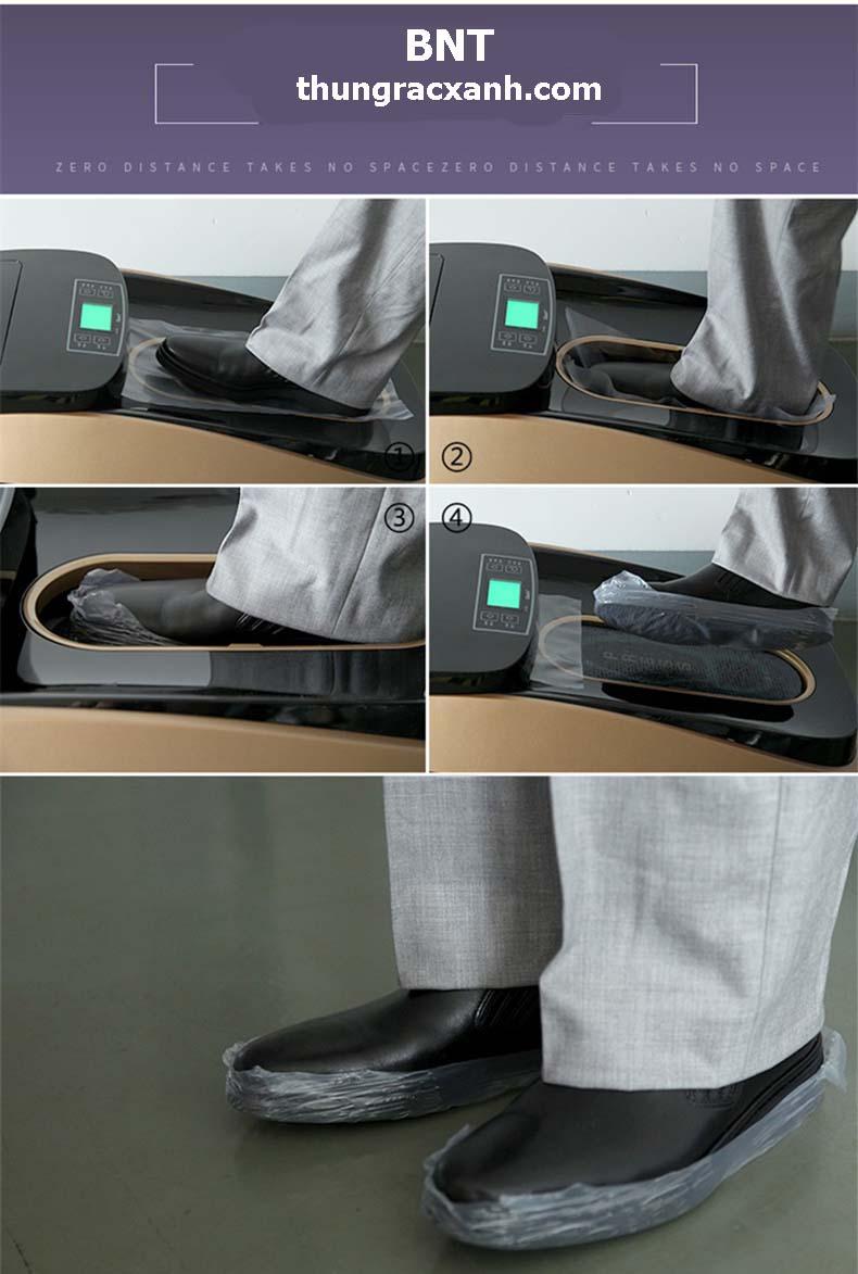 Hương dẫn sử dụng máy bọc giầy