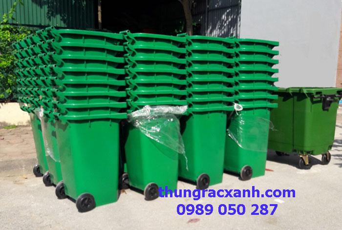 Thùng rác nhựa 240 lít xuất đi Cao Bằng