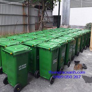 Thùng rác xuất cho chung cư