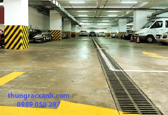 Sản phẩm được lắp đặt nhiều tại các hầm để xe