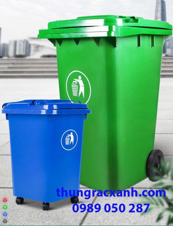 Thùng rác nhựa HDPE nhiều kích thước