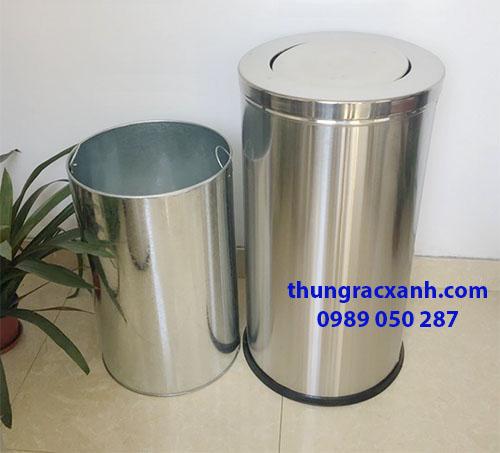 Thùng rác và ruột thùng rác