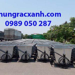 Dự án 50 xe thu gom rác tại Quảng Ninh