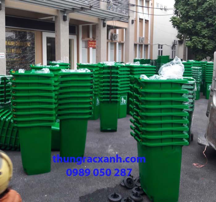 Dự án thùng rác nhựa 240 lít