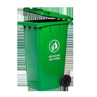 Thùng rác nhựa HDPE 240 lít giá rẻ