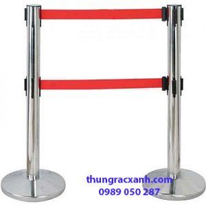 Cột rào chắn căng dây nhiều mẫu mã, kích thước