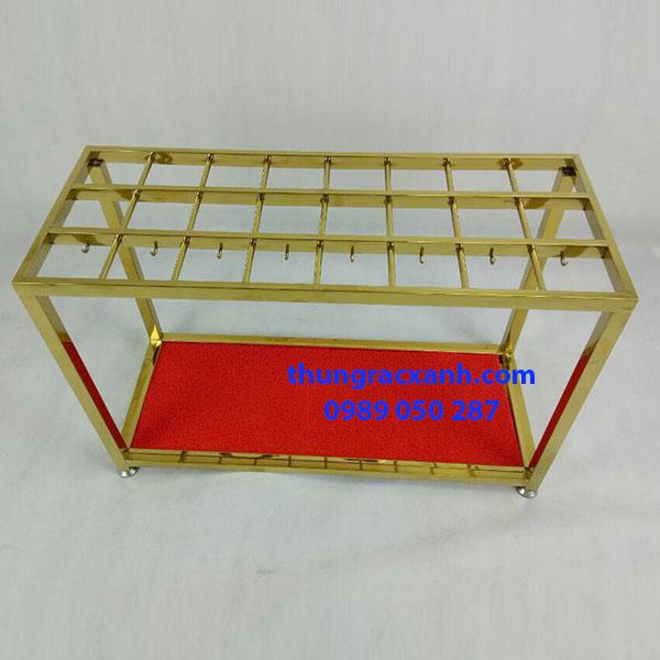 Giá để ô inox vàng rẻ nhất thị trường