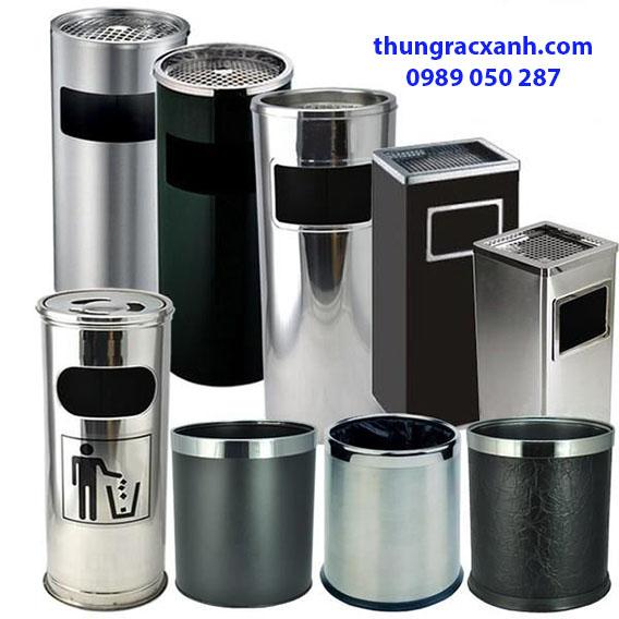 Chuyên cung cấp các loại thùng rác inox nhiều mẫu mã, kích thước