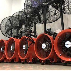 Chuyên cung cấp quạt thông gió xách tay tại hà nội và trên toàn quốc