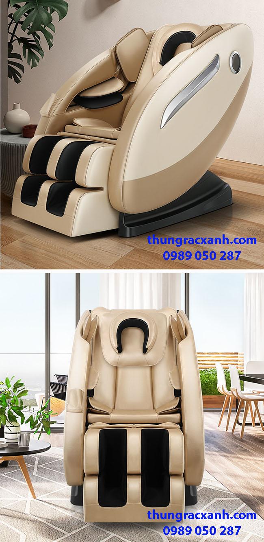 Ghế massage giá rẻ có thêm túi khí trên đầu